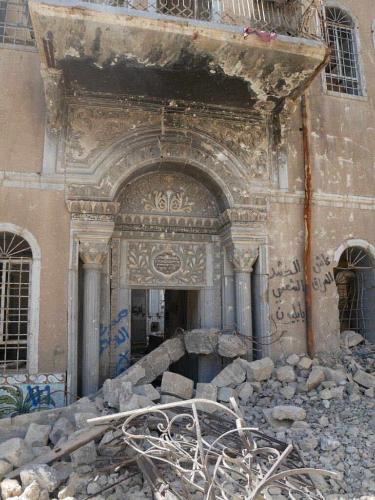 Bâtiment effondré à Mossoul