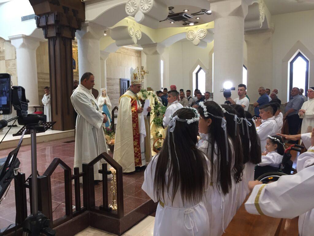 Communions à Karamelash en 2019
