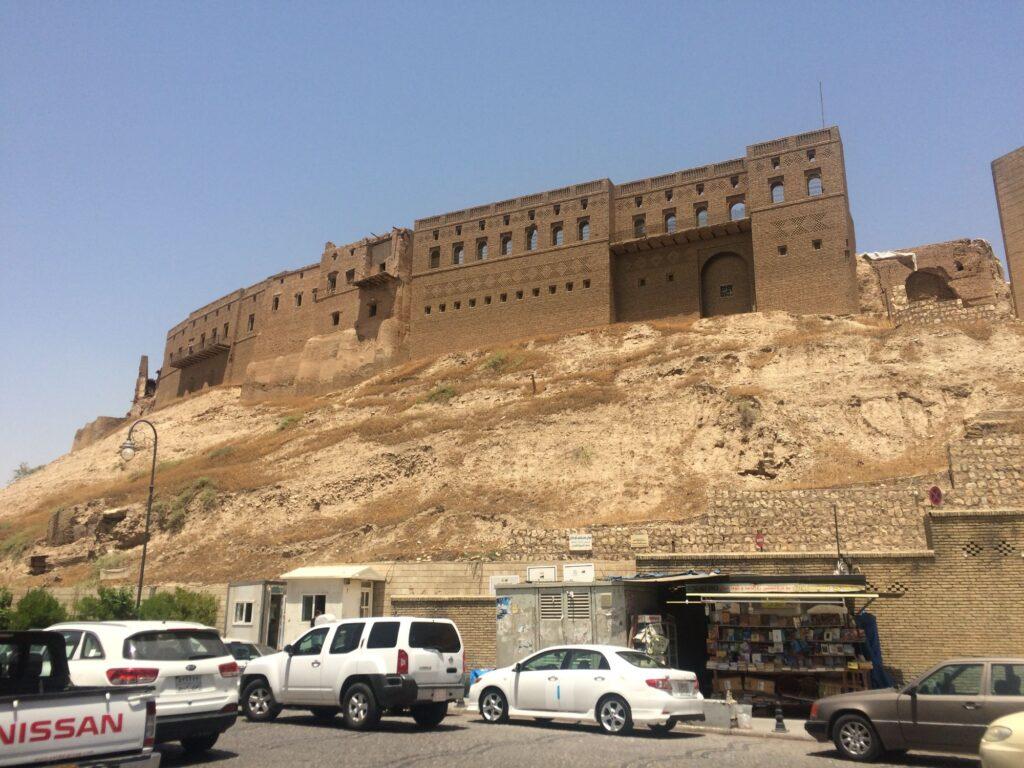 Citadelle d'Erbil au Kurdistan irakien