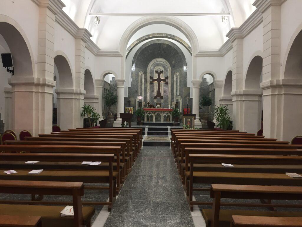 L'église de Bartella reconstruite