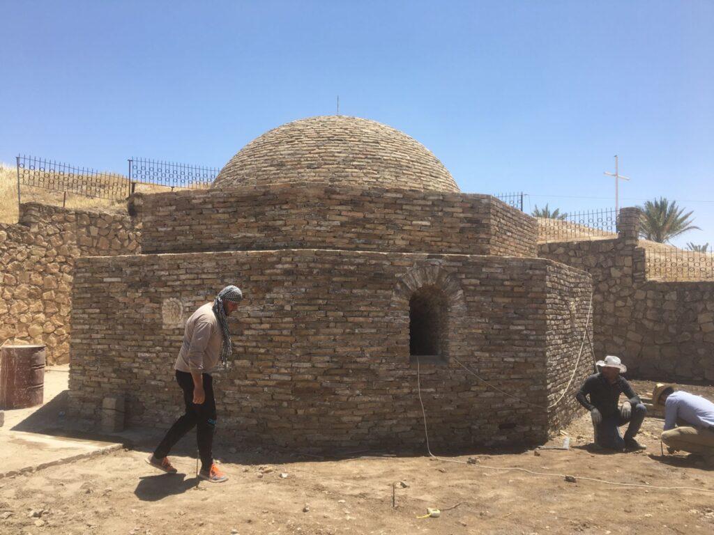 Monastère de Mar Behnam, lieu de pèlerinage
