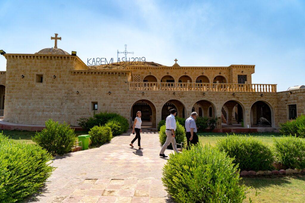 Monastère de Sainte-Barbara, Karemlash