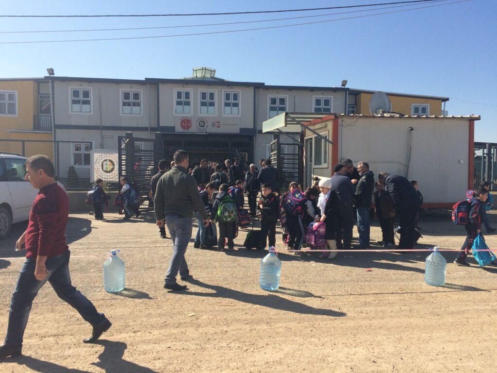 Sortie de classe à l'école Al Bishara à Erbil