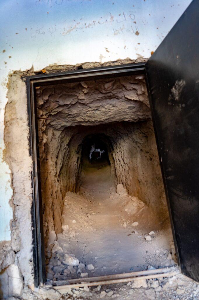 Tunnel creusé par Daech