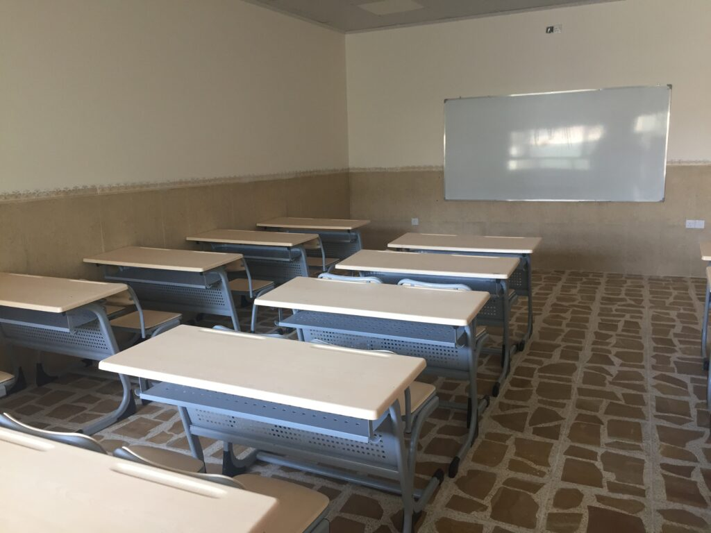 Une salle de classe rénovée à Bartella