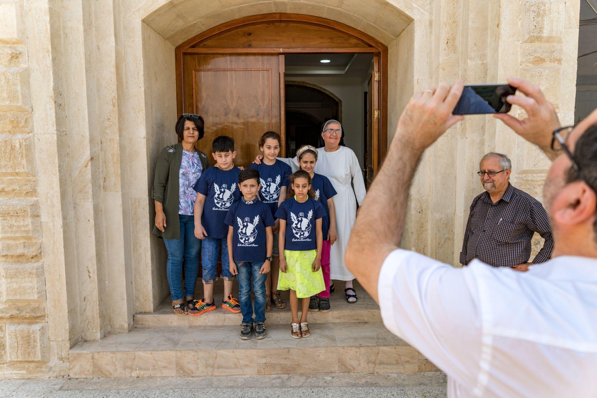 École soutenue par Espoir Irak à Bartella