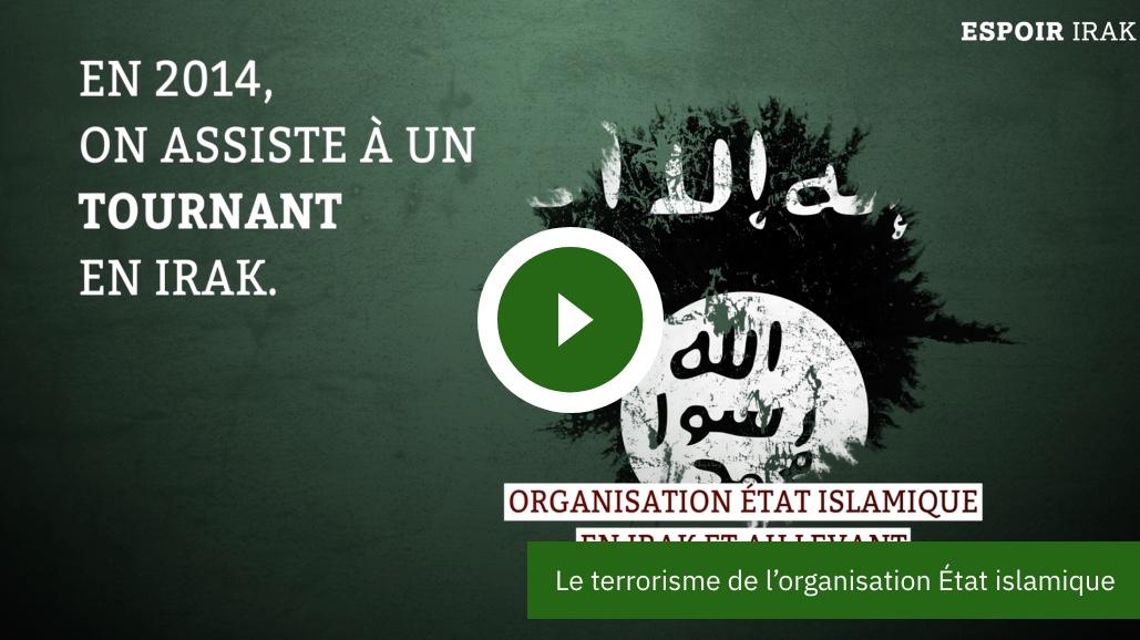 Le terrorisme et l'organisation Etat islamique